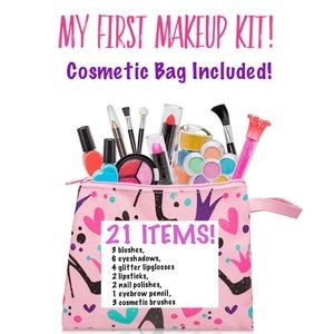 Other - My First Make Up Kit with 21 colors & Stylish Bag